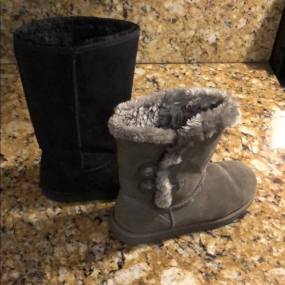 90a481d1e0f Target ugg dupe size 6 fur boots